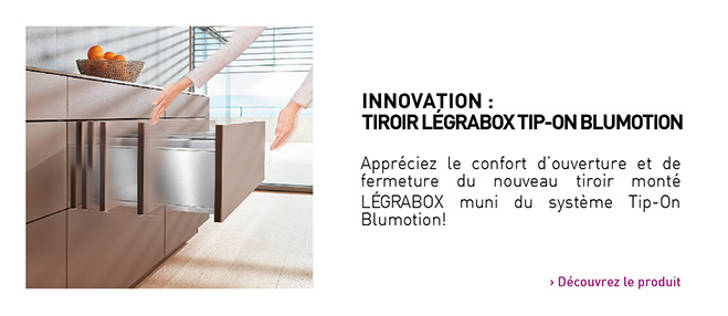 Tip-On Blumotion pour Legrabox