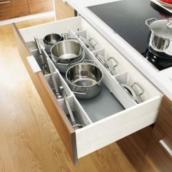 TLC5 - Pour casseroles et couvercles - Coté métal