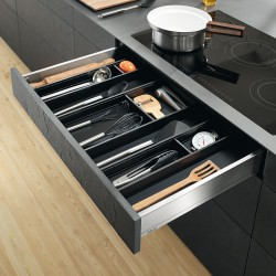 Innenauszug mit Inneneinteilung für Küchenhelfer (LMZ3)